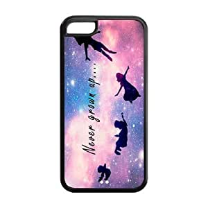 Custom Peter Pan Design TPU Snap On Case Cover Shell Protector For iphone 5c
