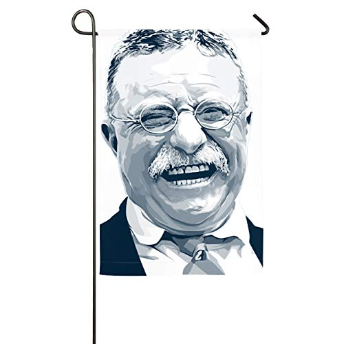 (Col1Q Monroe Doctrine Theodore Roosevelt Laughing Out Loud Garden Flag - Decorations for Home Decor House Yard Outdoor Party)