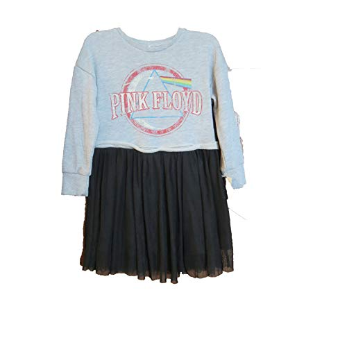 Pink Floyd Distressed Sweatshirt Dress Girls sz 3T