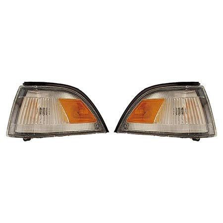 Fits 1988-1992 Toyota Corolla Pair Park Clearance Lights Driver and Passenger Side Sedan/4dr wagon; for USA Built TO2520104 TO2521108 - replaces 81620-02020 81610-02020