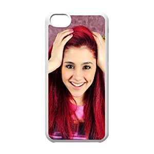 C-EUR Print Ariana Grande Pattern Hard Case for iPhone 5C