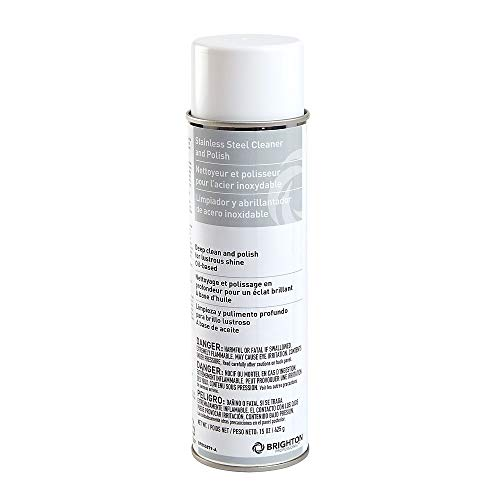 Brighton 2611676 Stainless Steel Cleaner and Polish 15 Oz.