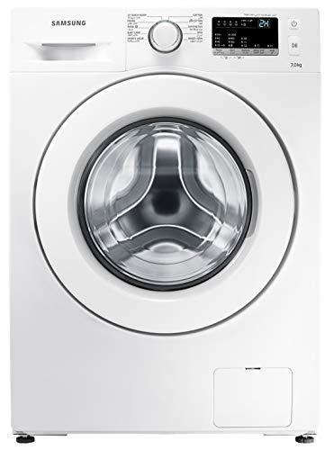 Samsung 7KG 1200 RPM Diamond Drum, Front load Washing machine, White - WW70J3280KW, 1 Year Warranty