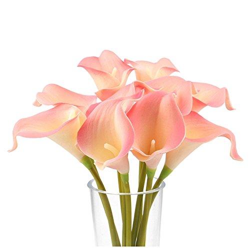 Long Calla Stem Lilies Pink (Meide Group USA 14