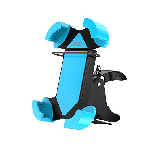 CHOETECH Soporte Celular para Bicicleta Motocicleta, Soporte de Móvil Universal Rotación de 360 Grados, Brazo Ajustable...