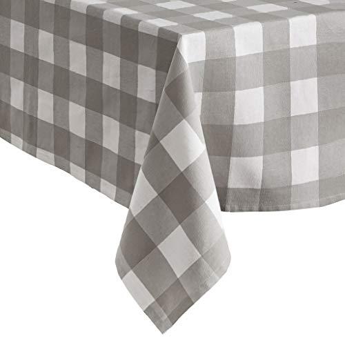 Elrene Home Fashions Farmhouse Living Buffalo Check Tablecloth, 52