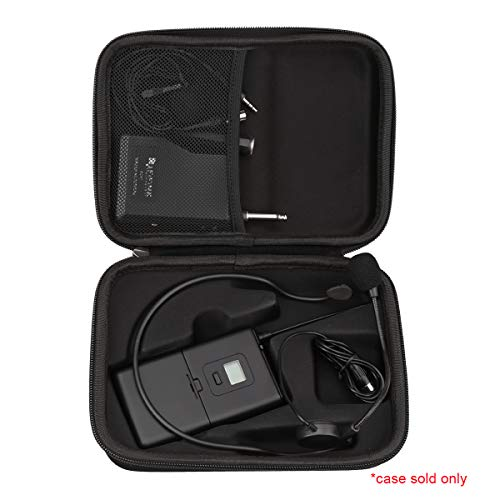 Aproca Hard Storage Travel Case Bag Fit Fifine K037B Wireless Microphone System
