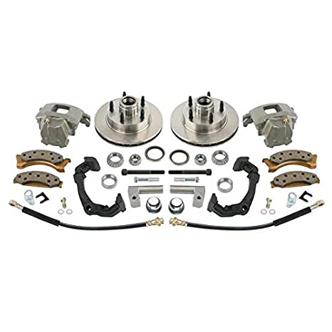 Amazon com: Mustang II Disc Brake Kit for Early Chevy