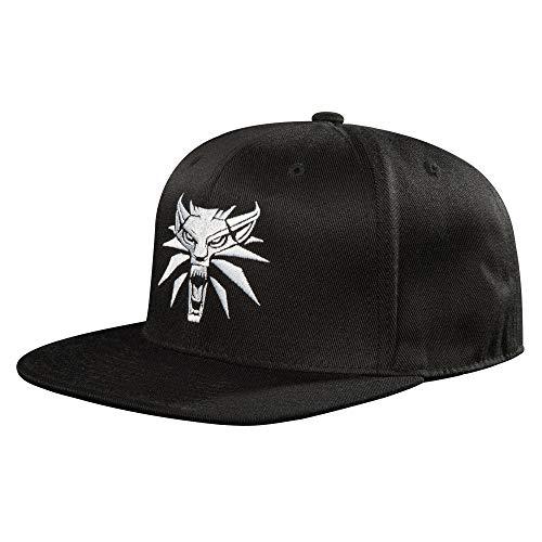 - JINX The Witcher 3 White Wolf Medallion Snapback Baseball Hat, Black, One Size