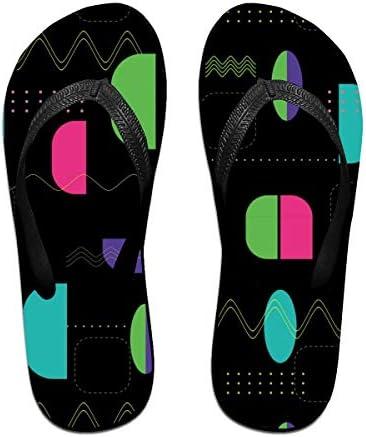 ビーチシューズ 不規則な幾何柄 ビーチサンダル 島ぞうり 夏 サンダル ベランダ 痛くない 滑り止め カジュアル シンプル おしゃれ 柔らかい 軽量 人気 室内履き アウトドア 海 プール リゾート ユニセックス