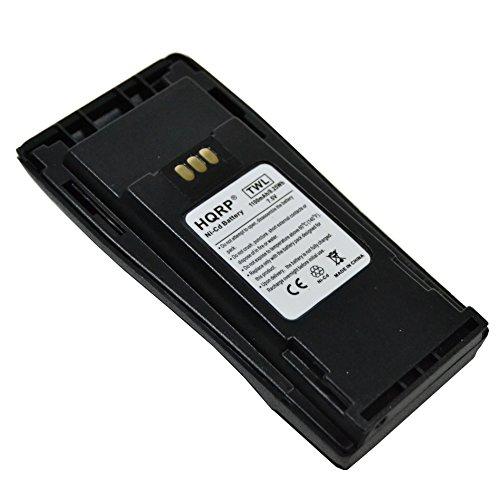 HQRP Battery for Motorola NNTN4496 NNTN4496R NNTN4496AR CP-340 CP-360 CP-380 EP-450 GP-3138 GP-3688 PR-400 PM-400 Digital Portable Two-Way Radio + HQRP Coaster by HQRP