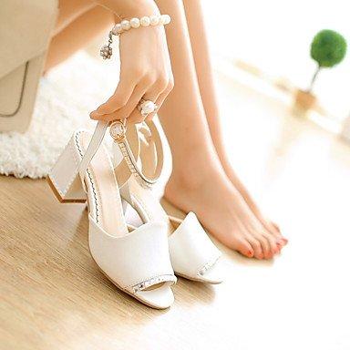 PU CN45 UK9 039 informal FlatWhiteUS11 primavera mujeres Confort Negro Blanco 5 5 confort Las s sandalias UE43 P1XwqTa