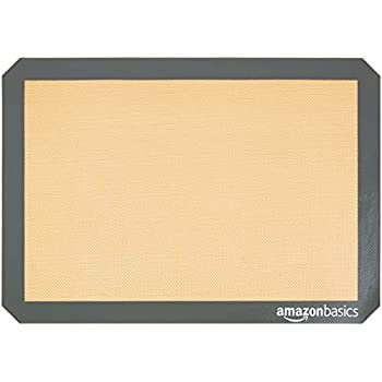 AmazonBasics Silicone Baking Mat Sheet, Set of 4