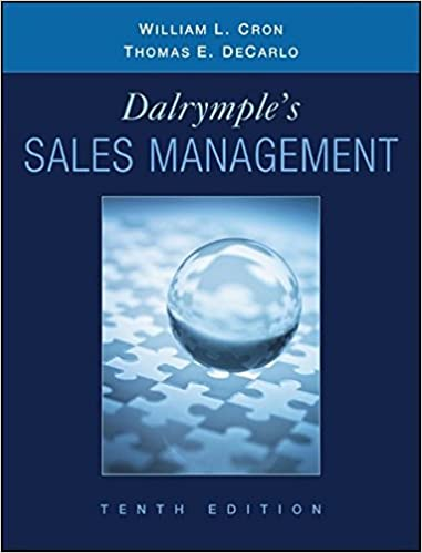 Dalrymples sales management concepts and cases william l cron dalrymples sales management concepts and cases 10th edition fandeluxe Gallery