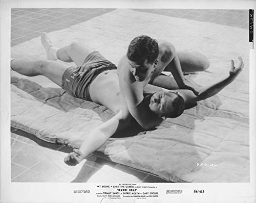 Mardi Gras 1958 Original Photo wrestling scene Tommy Sands