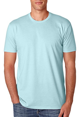 Next Level Apparel N6210 Mens Premium CVC Crew - Ice Blue, Medium