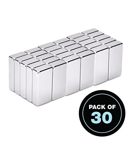 30-Pack 15 x 6.5 x 3 mm Rectangular -