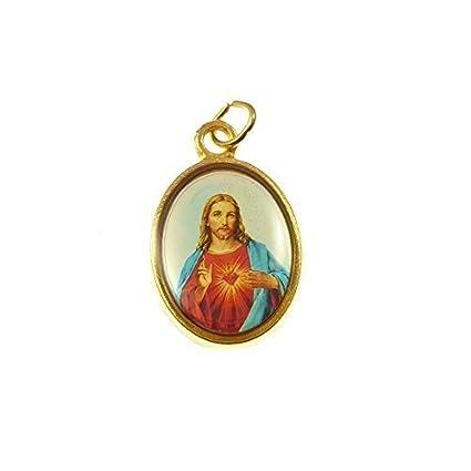 Medalla de Rosario Católico - Sagrado Corazón