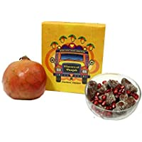 Anardana Ampapar by Flavors of Punjab Tasty, Healthy, Prepared & Packed Under Hygienic Conditions Made from Dry Mangoes Mixed with Anardana, Black Pepper, Jeera, Amchoor & Salt.[ Pack of 1 ]