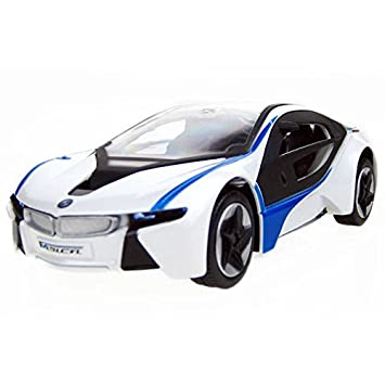 Amazon Com 1 32 Bmw I8 Concept Die Cast Model Toy Car With Light