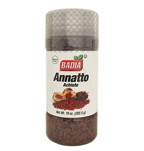 2 Pack Whole Annatto Seed Anatto anato Achiote entero Kosher 10 oz Ea