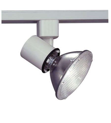 PLC Lighting TR200 WH Comet I Collection Track Lighting Lamp Holder, White Comet Collection