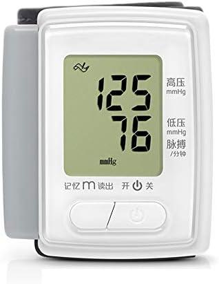 LTLGHY Blutdruckmessgerät Handgelenk, Handgelenk Blutdruckmessgerät Digital Vollautomatisch, Slim Portabel Und Sprachübertragungs Funktion,Großes LCD-Display, Automatic Shut-Down, 60 Speicher