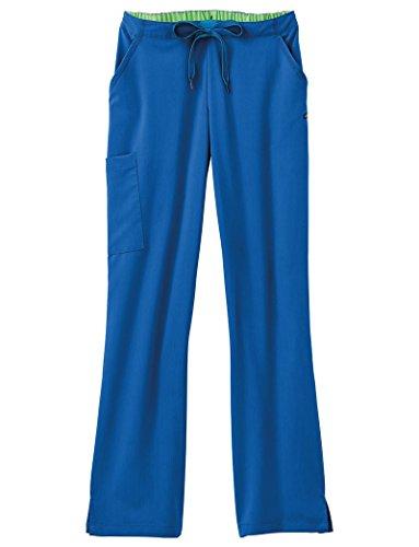 (Jockey Women's Scrubs 3-in-1 Convertible Scrub Pant, Royal Blue, XL)