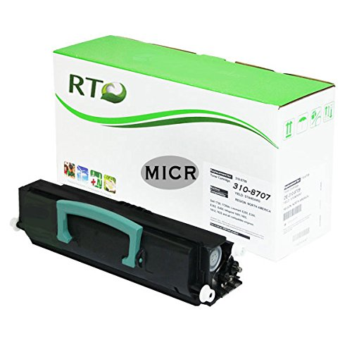 Renewable Toner Compatible MICR Toner Cartridge High Yield Replacement Dell 1720 310-8707 for Dell 1720 1720dn