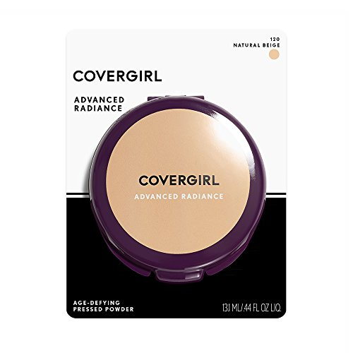 COVERGIRL Advanced Radiance Age-Defying Pressed Powder, Natural Beige .39 oz (11 g) (Packaging may vary) by COVERGIRL (Image #5)