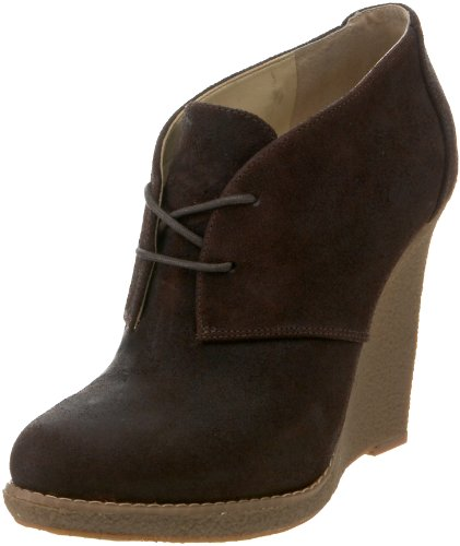 Enzo Angiolini Womens Flory Bootie Dark Brown