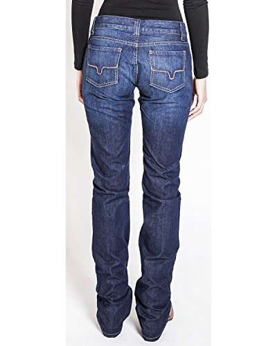 Kimes Ranch Women's Alex Slouch Fit Jeans Indigo 12W x 38L
