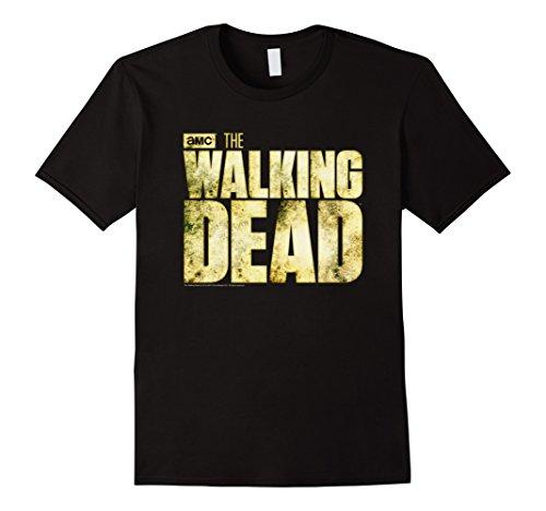 Classic Walking T-shirt (Men's The Walking Dead Logo T-Shirt Medium Black)
