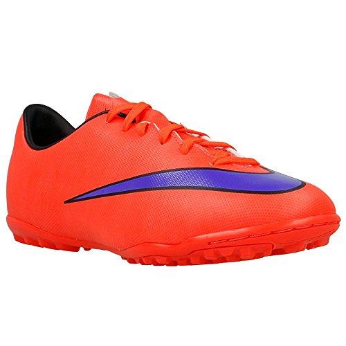 Nike Mercurial Victory V Unisex-Kinder Fußballschuhe Orangefarbig