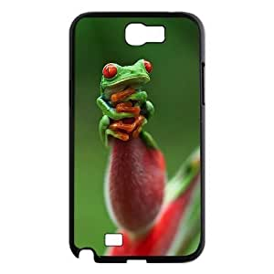 Frog Use Your Own Image Phone Case for Samsung Galaxy Note 2 N7100,customized case cover ygtg530856