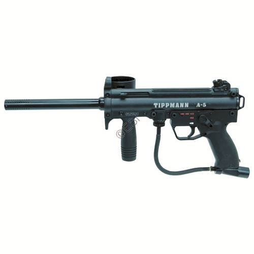 Tippmann A-5 .68 Caliber Paintball Marker with E-Grip