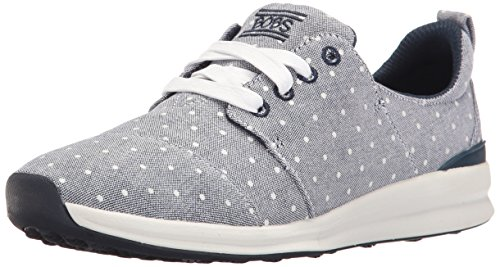 Skechers BOBS From Women's Phresh-Phresh Flowers Fashion Sneaker, Navy Dot, 11 M US (Dot Sneaker Fashion)