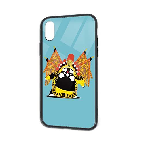 - Anti-Scratch Chinese Peking Opera Soft Silicone TPU Phone Case for iPhone X iPhone Xs