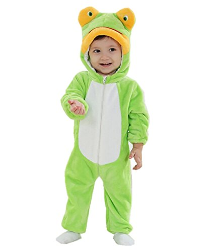Joyhy Baby Girls Boys Toddlers Romper Cute Animal Costume Outfit Frog 80 ()