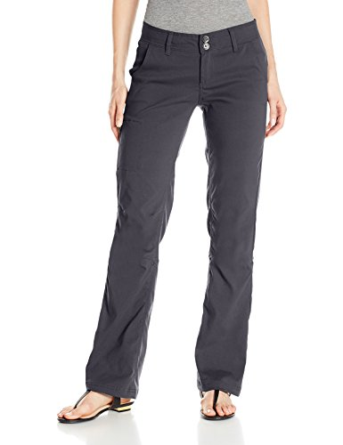 prAna Living Women's Regular Inseam Halle Pant, Coal, 4