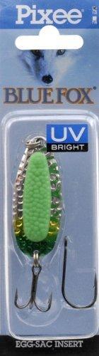 (Blue Fox Pixiee Spoon, 1/2-Ounce, Fluorescent Green UV by Blue Fox )