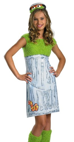 (Oscar the Grouch Tween Costume -)