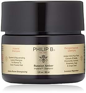 Amazon.com: PHILIP B Russian Amber Imperial Shampoo, 3 fl