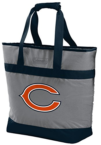 NFL 30 Can Soft Sided Tote Cooler, Chicago Bears