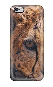 Iphone 6 Plus Case Cover - Slim Fit Tpu Protector Shock Absorbent Case (cheetah)