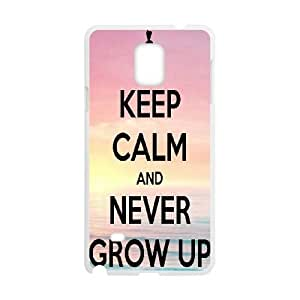 Samsung Galaxy S4 Phone Cases White Never Grow Up CWQ171289