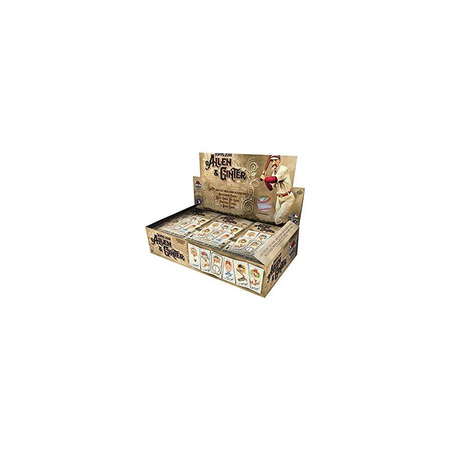 2018 Topps Allen Ginter Hobby Box (24 Packs/8 Cards: 3 Hits)