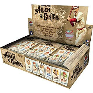 2018 Topps Allen Ginter Hobby Box (24 Packs/8 Cards: 3 Hits)