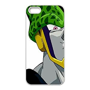 Dragon Ball Z Cell iPhone 4 4s Cell Phone Case White DIY GIFT pp001_8010624