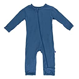 KicKee Pants Coverall, Twilight, 3-6 Months